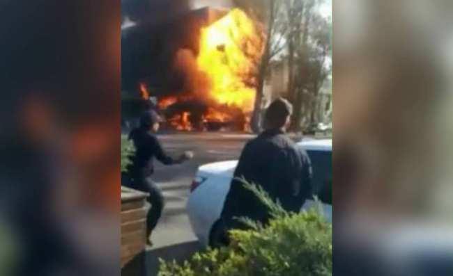 Взрыв в кафе «Антошка». Есть пострадавшие. Видео