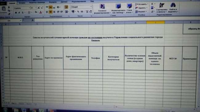 Предоставить списки не состоящих на учете нуждающихся просят домкомов в Бишкеке