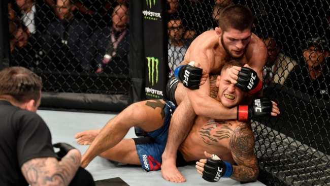 �о��е п�оиг�ал! Хабиб ���магомедов за�и�ил �и��л �емпиона UFC