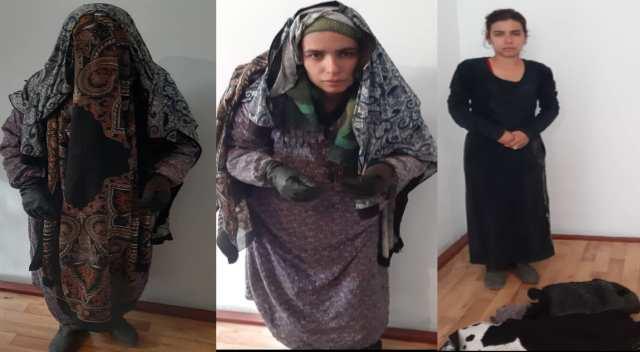 В Джалал-Абаде молодая девушка попрошайничала, замаскировавшись под старушку