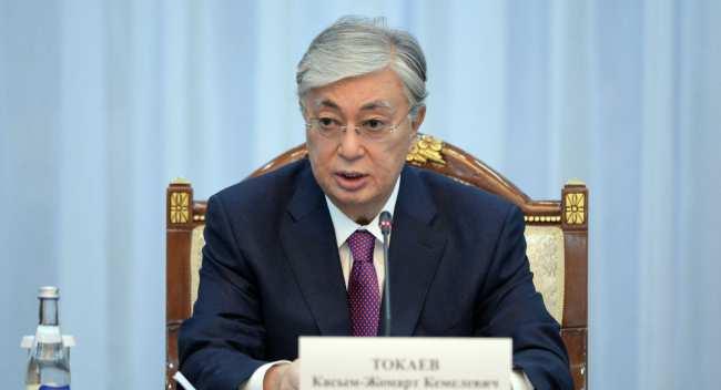 Архивное фото президента Казахстана Касыма-Жомарта Токаева