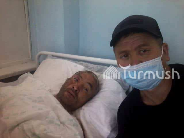 Нурлан переведен в Бишкекскую городскую клиническую больницу №4