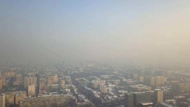 Бишкек стал городом с самым загрязненным воздухом в мире.