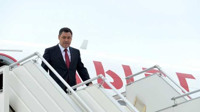 Визит Садыра Жапарова в Турцию. Состав делегации Кыргызстана
