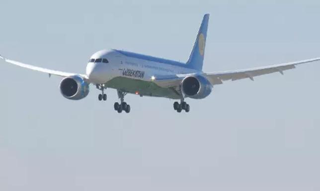 Авиарейс Ташкент - Тамчи отменили, не успев запустить