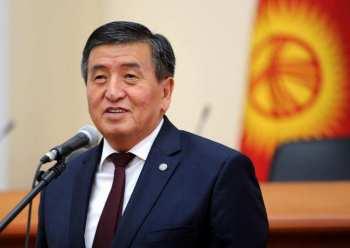 Встреча с президентом. Сооронбай Жээнбеков обещает не судиться с журналистами