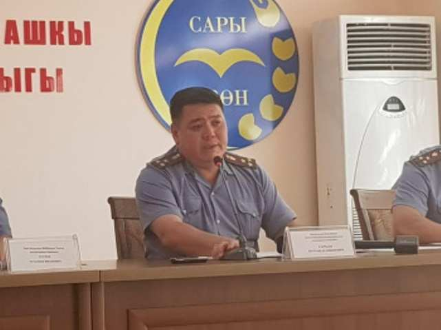 Жену экс-начальника ГУВД Чуйской области, которая напала на него, отпустили из ИВС