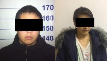 В Бишкеке задержали молодую семейную пару. Их подозревают в сбыте наркотиков (фото)