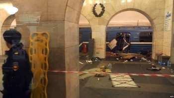 В России по делу о теракте в питерском метро объявили в розыск кыргызстанца