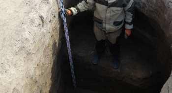 Рядом с Бишкеком на глубине 3 метров обнаружена удивительная находка! Фото