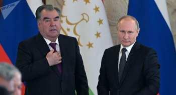 Путин и Рахмон обсудят в Москве ситуацию на кыргызско-таджикской границе