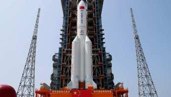 Неконтролируемая китайская ракета может в выходные упасть на Землю