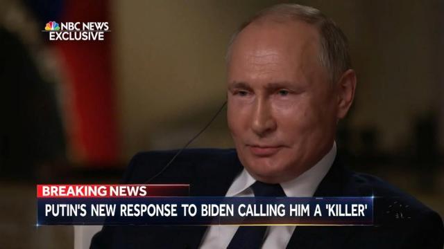 Путин ответил на вопрос, считает ли он себя убийцей