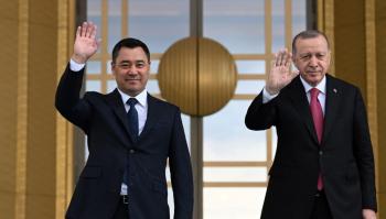 """Президент КР затронул вопрос об исчезновении главы сети лицеев """"Сапат"""" Инанды в разговоре с Эрдоганом"""
