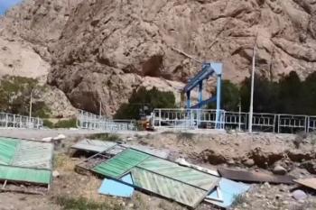 """Таджикистан снова установил камеры видеонаблюдения на водозаборе """"Головной"""""""