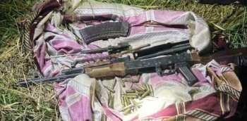 Недалеко от Бишкека обнаружили тайник с оружием.