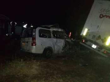 Honda Stepwgn всмятку: в страшном ДТП погибли восемь человек